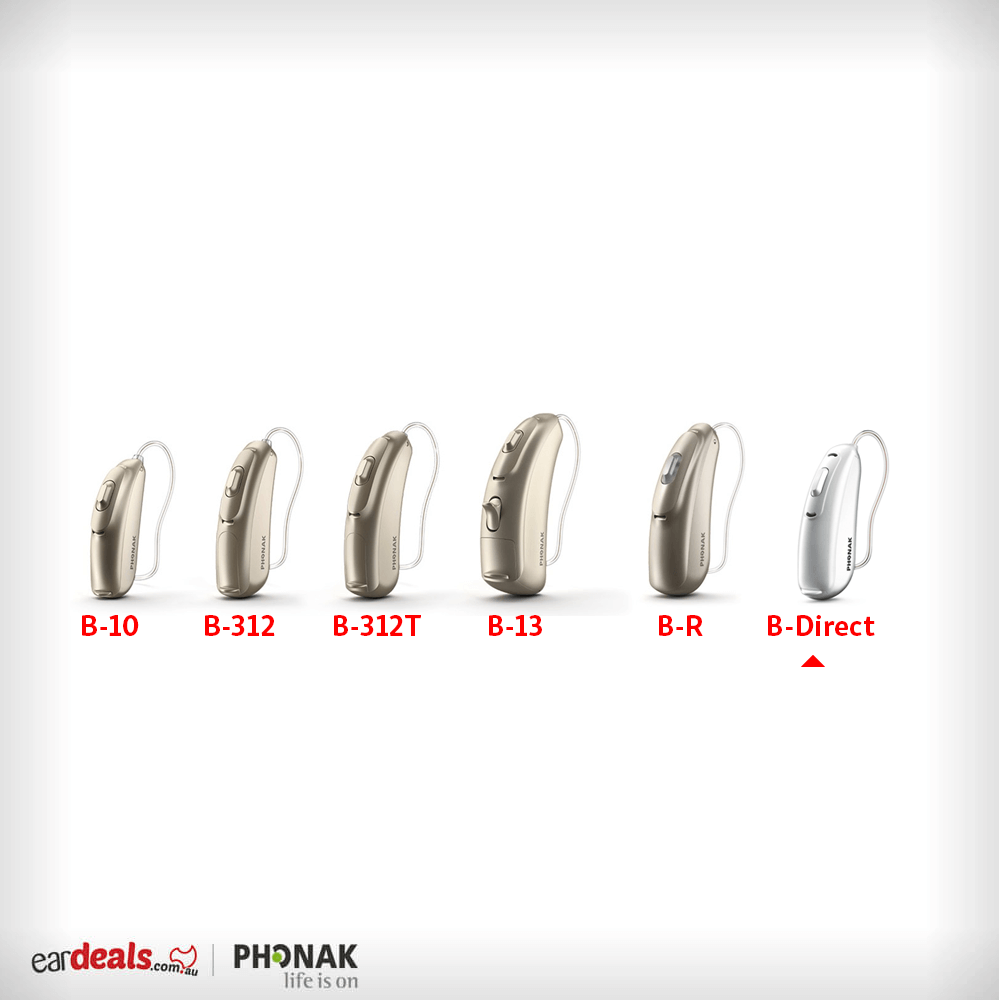 Book Hearing Guide: Phonak Audeo Belong B-Direct (50 Standard) Hearing Aid