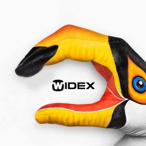 Sivantos and Widex merge as bird hand eats logo