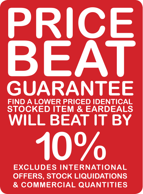 Hearing aid price beat guarantee