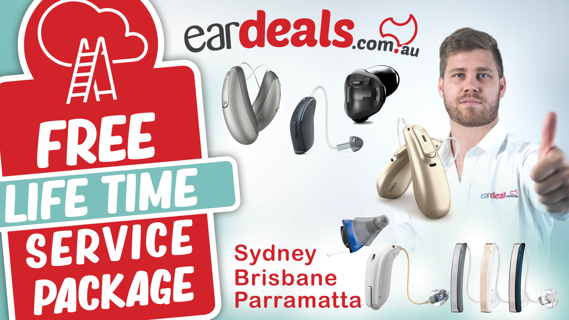Hearing aid prices for Brisbane, Sydney and Parramatta. Prices for Phonak, Oticon, Signia, Starkey, Unitron and more!
