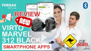 Phonak Virto Marvel 312 Hearing Aid Price and free smartphone app